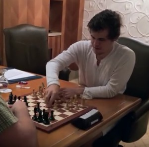 Reigning World Chess Champion Magnus Carlsen